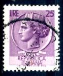 Stamps : Europe : Italy :  ITALIA_SCOTT 998G ITALIA SEGÚN MONEDA SIRACUSA. $0,2