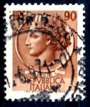 Sellos del Mundo : Europa : Italia : ITALIA_SCOTT 998O.02 ITALIA SEGÚN MONEDA SIRACUSA. $0,2