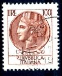 Stamps : Europe : Italy :  ITALIA_SCOTT 998P ITALIA SEGÚN MONEDA SIRACUSA. $0,2