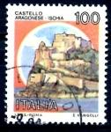 Stamps : Europe : Italy :  ITALIA_SCOTT 1415 CASTILLO PUNTA ARAGONESE. $0,2