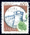 Stamps : Europe : Italy :  ITALIA_SCOTT 1426.01 CASTILLO DE ROVERETO. $0,25