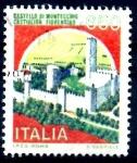 Sellos del Mundo : Europa : Italia : ITALIA_SCOTT 1658 CASTILLO MONTECCHIO. $0,3