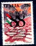 Stamps Italy -  ITALIA_SCOTT 1750 CONGRESO GASTROENTEROLOGIA. $0,6