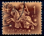 Stamps : Europe : Portugal :  PORTUGAL_SCOTT 766.02 SELLO EQUESTRE DEL REY DINIZ. $0,2
