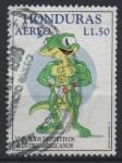 Stamps : America : Honduras :  FISICOCULTURISMO