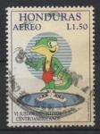 Stamps Honduras -  LUCHA