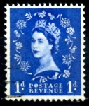 Sellos del Mundo : Europa : Reino_Unido : REINO UNIDO_SCOTT 354.03 REINA ISABEL. $0.2