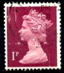 Sellos del Mundo : Europa : Reino_Unido : REINO UNIDO_SCOTT MH23.021 REINA ISABEL. $0.2