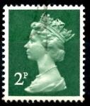 Sellos del Mundo : Europa : Reino_Unido : REINO UNIDO_SCOTT MH26.01 REINA ISABEL. $0.2