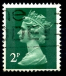 Stamps United Kingdom -  REINO UNIDO_SCOTT MH26.02 REINA ISABEL. $0.2