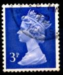 Sellos del Mundo : Europa : Reino_Unido : REINO UNIDO_SCOTT MH36 REINA ISABEL. $0.2