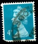 Sellos del Mundo : Europa : Reino_Unido : REINO UNIDO_SCOTT MH45 REINA ISABEL. $2.25