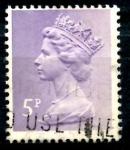 Sellos de Europa - Reino Unido -  REINO UNIDO_SCOTT MH50.02 REINA ISABEL. $0.2