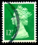 Stamps United Kingdom -  REINO UNIDO_SCOTT MH79 REINA ISABEL. $0.35