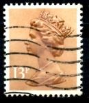 Sellos del Mundo : Europa : Reino_Unido : REINO UNIDO_SCOTT MH83.01 REINA ISABEL. $0.2