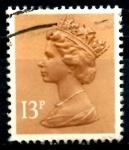Sellos de Europa - Reino Unido -  REINO UNIDO_SCOTT MH83.02 REINA ISABEL. $0.2