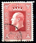Stamps : Europe : Norway :  NORUEGA_SCOTT 539 REY OLAV V. $0.2