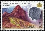 Stamps Spain -  VIAJE DE LOS REYES A HISPANOAMÉRICA