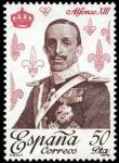 Stamps Spain -  REYES DE ESPAÑA - BORBONES