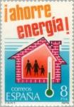 Stamps Spain -  AHORRE ENERGÍA