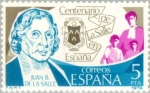 Stamps Spain -  CENTº DE LA SALLE EN ESPAÑA