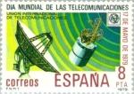 Stamps Spain -  DIA MUNDIAL DE LAS TELECOMUNICACIONES