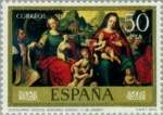 Stamps Spain -  DIA DEL SELLO - J. DE JUANES
