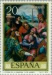 Stamps Spain -  DIA DEL SELLO - J. DE JUANES