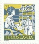 Sellos del Mundo : Europa : Yugoslavia : (326) SERVICIOS POSTALES. CLASIFICACIÓN DE LA CORRESPONDENCIA. YVERT YU 2172