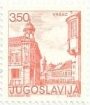 Sellos del Mundo : Europa : Yugoslavia : TURISMO. CIUDAD DE VRSAC, PERFORACIÓN 13½ x 12½. YVERT YU 1764B