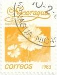 Sellos del Mundo : America : Nicaragua : FLORES. CLAVEL DE MORO, Tagetes erecta. YVERT NI 1249