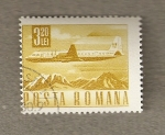 Stamps Europe - Romania -  Avión
