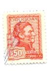 Stamps of the world : Uruguay :  ARTIGAS