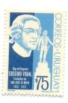 Stamps of the world : Uruguay :  EUSEBIO VIDAL FUNDADOR DE SAN JOSÉ DE MAYO