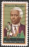 sellos de America - Estados Unidos -  Benjamin Banneker