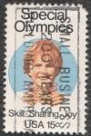 sellos de America - Estados Unidos -  Special olimpies
