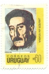Stamps of the world : Uruguay :  JAVIER DE VIANA