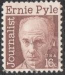 sellos de America - Estados Unidos -  Ernie Pyle