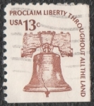 Stamps of the world : United States :  Proclaim liberty