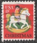Sellos de America - Estados Unidos -  Christmas