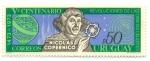 Stamps of the world : Uruguay :  Vº CENTENARIO REVOLUCIONES DE LAS ORBITAS CELESTES