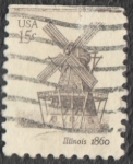 sellos de America - Estados Unidos -  Illinois