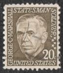 Sellos de America - Estados Unidos -  George C. Marshall