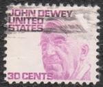 Sellos de America - Estados Unidos -  John Dewey