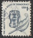 sellos de America - Estados Unidos -  A root of democracy