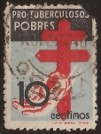 Stamps Europe - Spain -  Pro Tuberculosos Pobres  1937  10 cents