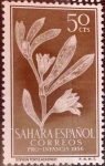 Stamps Spain -  Sahara Edifil-129