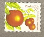 Stamps America - Barbados -  Cereza de Barbados