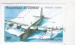 Stamps : Africa : Republic_of_the_Congo :  HIDROAVIÓN