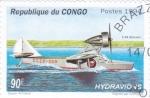 Stamps Republic of the Congo -  HIDROAVIÓN